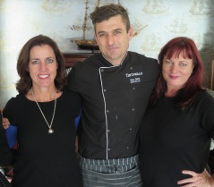 Jenny Handley, Chef Guy Clark, Bianca Coleman