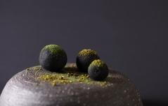 Tintswalo Atlantic (Amuse Bouche, springbok, snoek, pistachio) 1