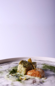 Tintswalo Atlantic (Atlantic Line fish, scallop, burnt lemon rind, seaweed veloute) 2