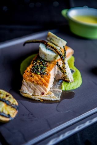Punchinello's dish - Norwegian salmon