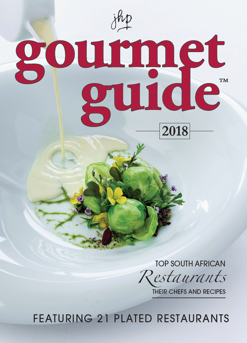 Image result for Gourmet Guide 2018: Top South African Restaurants, Their Chefs and Recipes