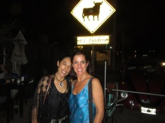Lily Espinoza of Riviera's Kitchen Tulum and Jenny Handley
