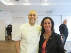 Michel Roux Jnr and Jenny Handley in Paris