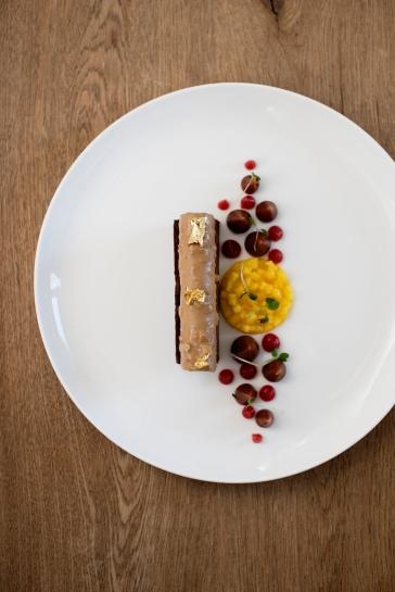 La Petite Ferme - Valrhona Chocolate Torte (HR) photo Claire Gunn