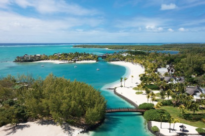 Shangri-La's Le Touessrok Resort & Spa, Mauritius - Aerial view full resort (HR) 2
