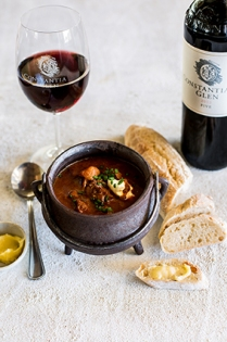 Gulash with wine 1