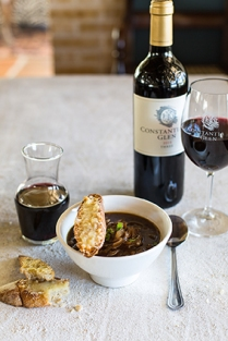 Constantia Glen French onion soup LR