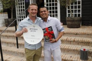 1 Executive Resort Chef, Chris Mare, Nobu Head Chef Harold Hurtada
